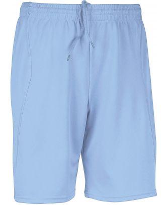 Short de sport PA101 - Sky Blue