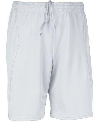 Short enfant de sport PA103 - White