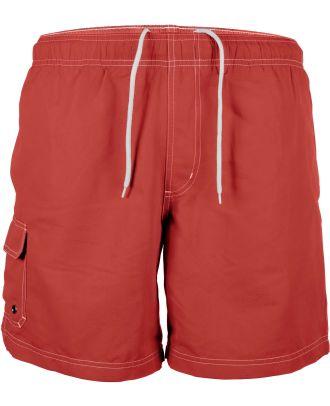 Short de bain PA119 - Red