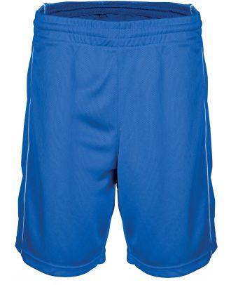 Short enfant Basket PA161 - Sporty Royal Blue