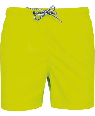 Short de bain PA168 - Fluorescent Yellow
