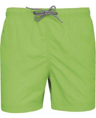 Short de bain PA168 - Lime