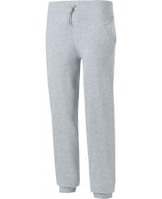 Pantalon enfant de jogging en coton léger PA187 - Oxford Grey