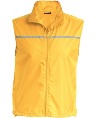 Gilet d'entrainement Runner dos filet PA234 - Yellow