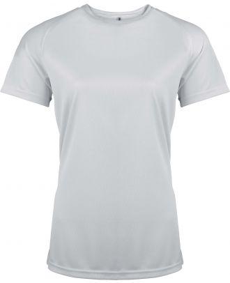 T-shirt femme manches courtes sport PA439 - White