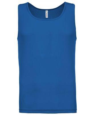 Débardeur homme sport PA441 - Sporty Royal Blue