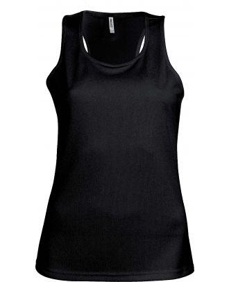 Débardeur femme sport PA442 - Black