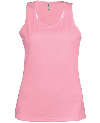 Débardeur femme sport PA442 - Dark Pink
