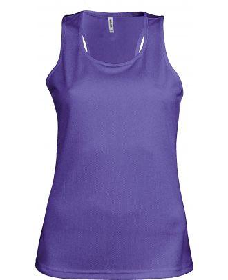Débardeur femme sport PA442 - Violet