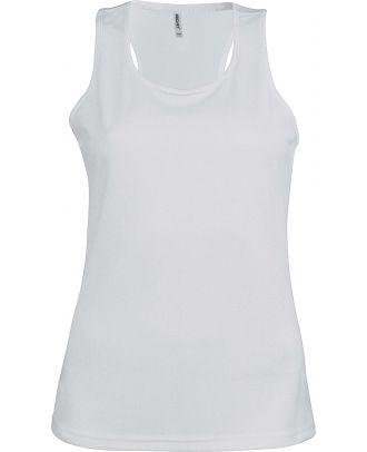 Débardeur femme sport PA442 - White