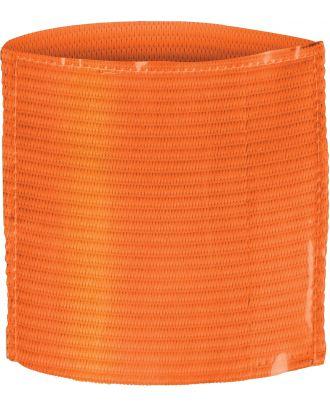 Brassard porte étiquette élastique PA678 - Fluorescent Orange
