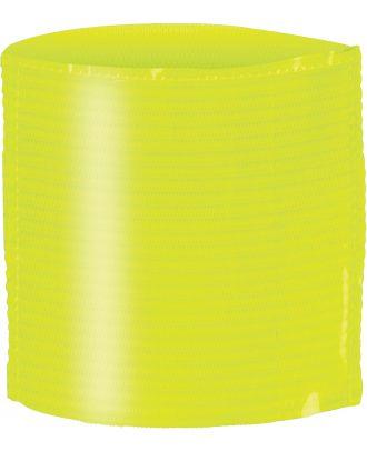 Brassard porte étiquette élastique PA678 - Fluorescent Yellow