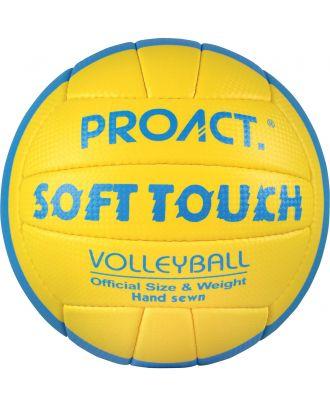 Ballon soft touch beach volley ball PA852 - Yellow / Royal Blue / White