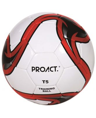 Ballon football Glider 2 taille 5 PA876 - White / Red / Black-Taille 5