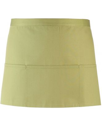 """Tablier taille """"Colours"""" 3 poches PR155 - Lime"""