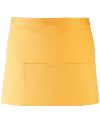 """Tablier taille """"Colours"""" 3 poches PR155 - Sunflower"""