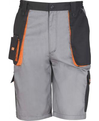 Short de travail Lite R319X - Grey / Black / Orange