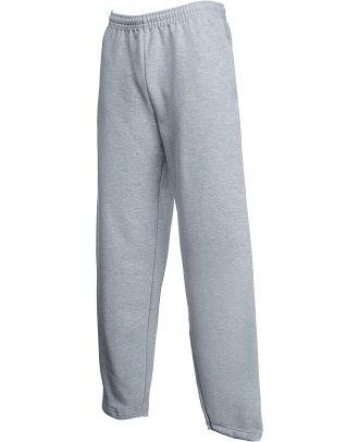 Pantalon de jogging bas droit SC4024C - Heather Grey