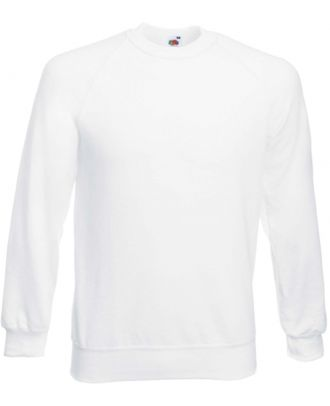 Sweat-shirt homme manches raglan SC4 - White