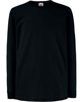T-shirt enfant manches longues valueweight SC61007 - Black