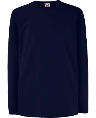 T-shirt enfant manches longues valueweight SC61007 - Deep Navy