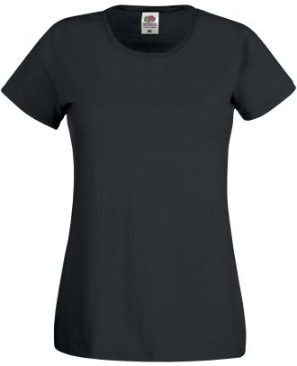 T-shirt femme manches courtes Original-T SC61420 - Black de face
