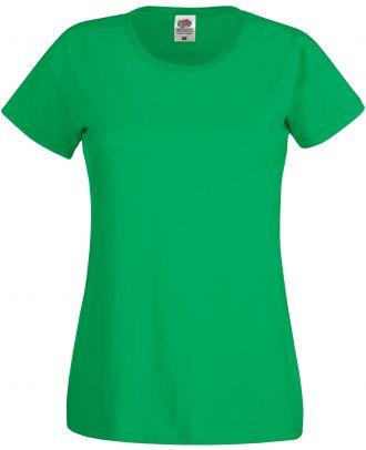 T-shirt femme manches courtes Original-T SC61420 - Kelly Green de face