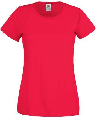 T-shirt femme manches courtes Original-T SC61420 - Red de face