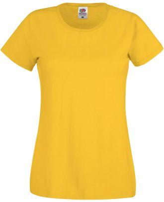 T-shirt femme manches courtes Original-T SC61420 - Sunflower yellow de face