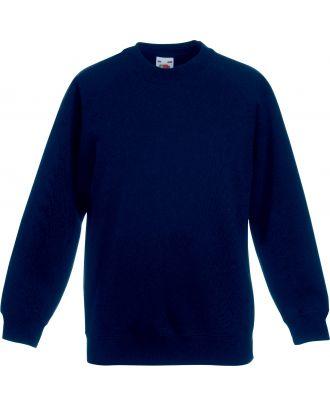 Sweat-shirt enfant manches raglan SC62039 - Navy