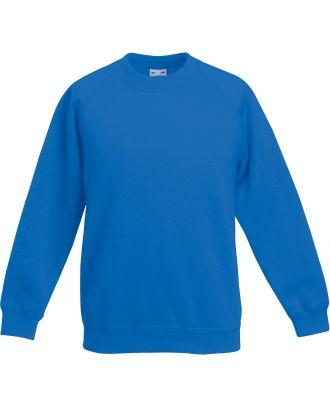 Sweat-shirt enfant manches raglan SC62039 - Royal Blue