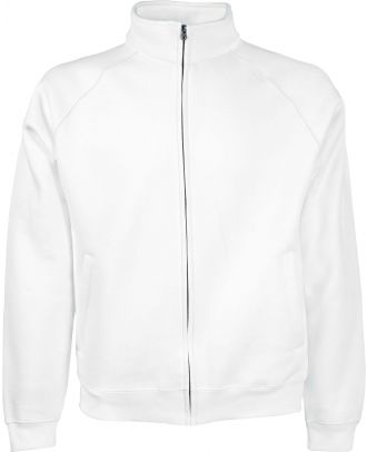 Veste homme molleton zippée classic SC62230 - White