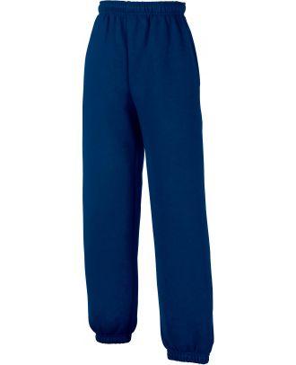 Pantalon jogging enfant bas élastiqué SC64051 - Navy