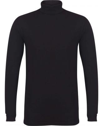 T-shirt homme col roulé Feel Good SFM125 - Black