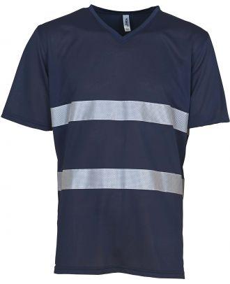 T-shirt haute visibilité HVJ910 - Navy