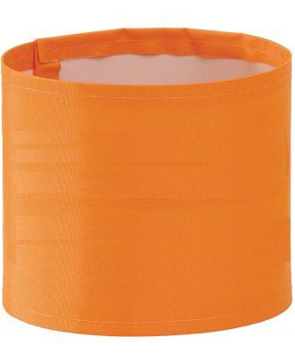 Brassard haute visibilité large personnalisable HVW066 - Hi Vis Orange