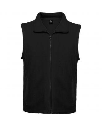 Veste polaire avec col montant et zip BELLAGIO noir