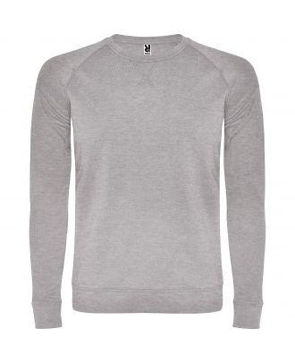 Sweat-shirt homme manches longues raglan ANNAPURNA gris chiné
